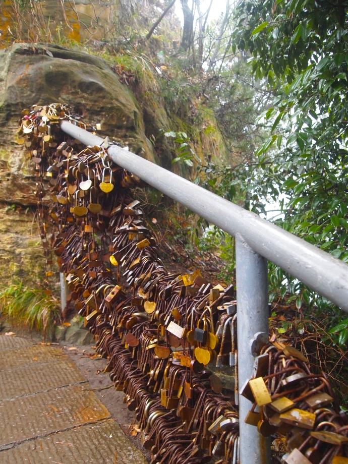More locks on the bridge