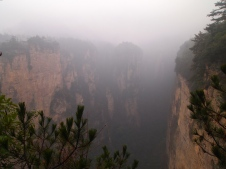 "the literally ""mystical"" Zhangjiajie"