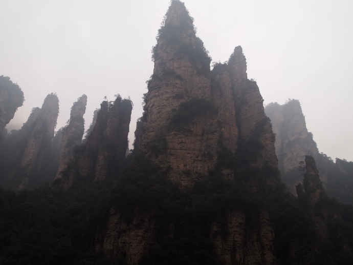 final view of Zhangjiajie