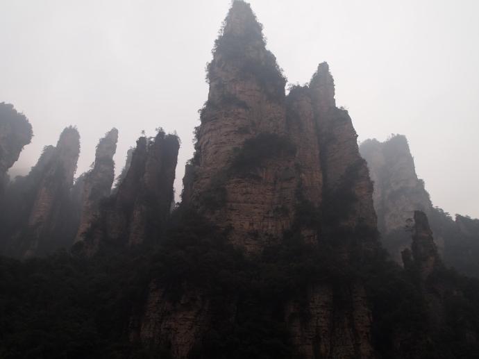 final view of Zhangjiajie