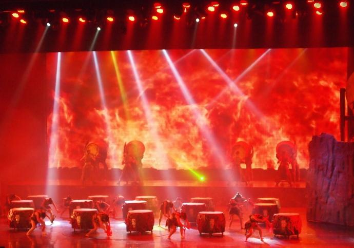 Dancing extravaganza