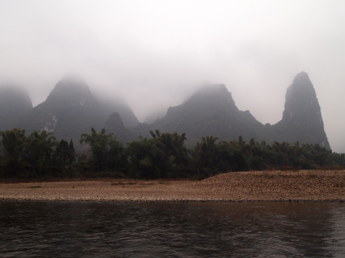 heading down the Li River
