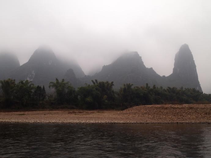 heading down the Li River