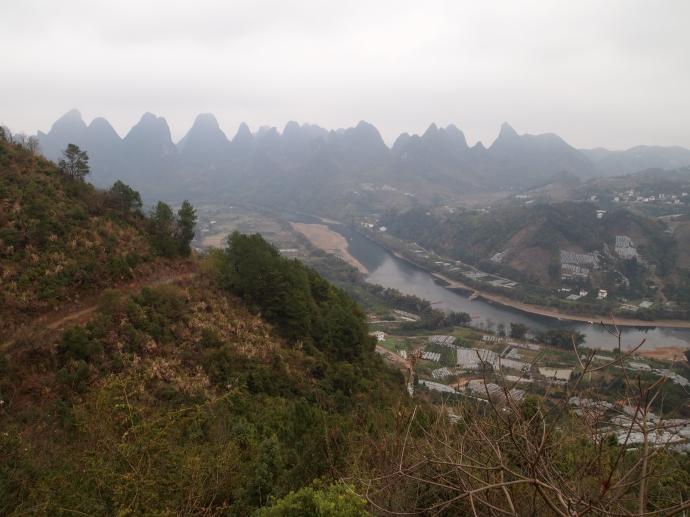 view of the Li River