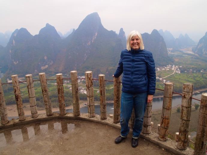 Me atop Xianggong Hill