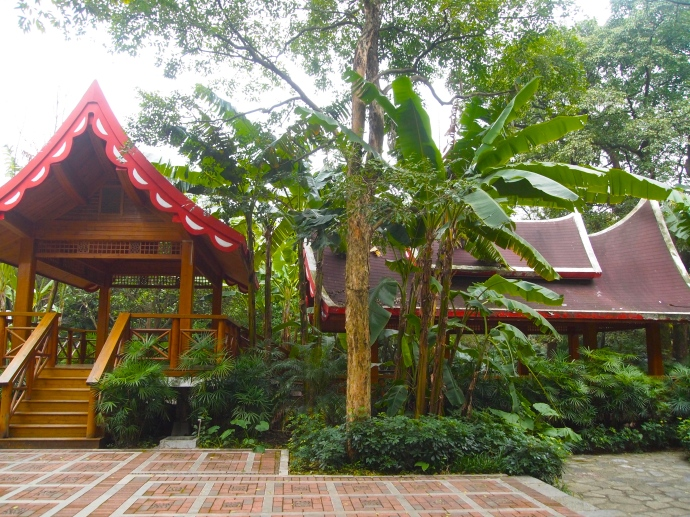 pavilions in the sub-tropics