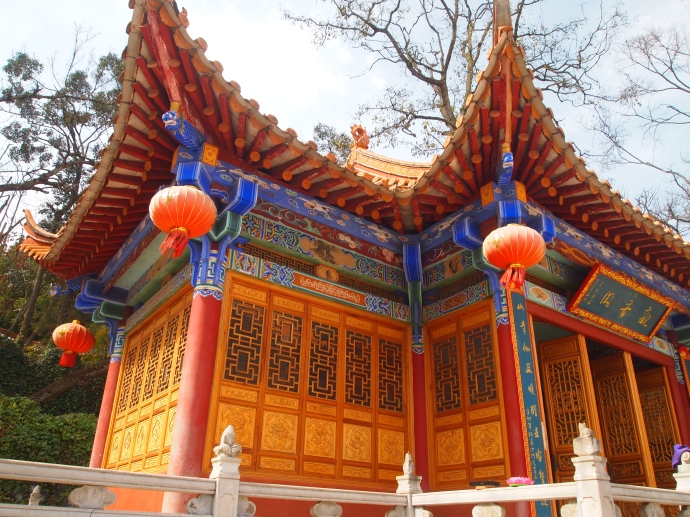 Love the flying eaves of Chinese traditional buildings