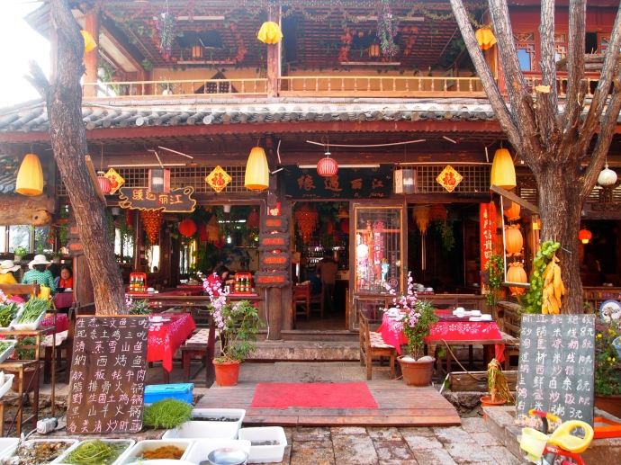 Restaurant in Lijiang