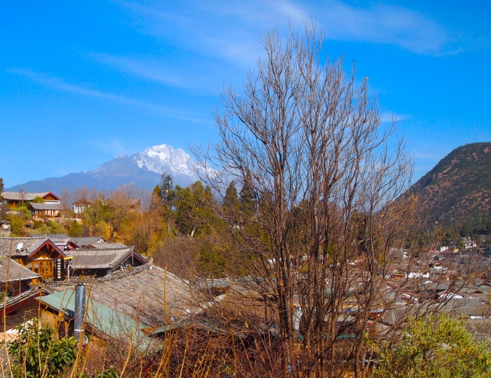 Jade Dragon Snow Mountain and Lijiang