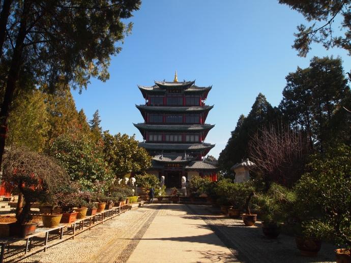 Wangu Pavilion from the far end