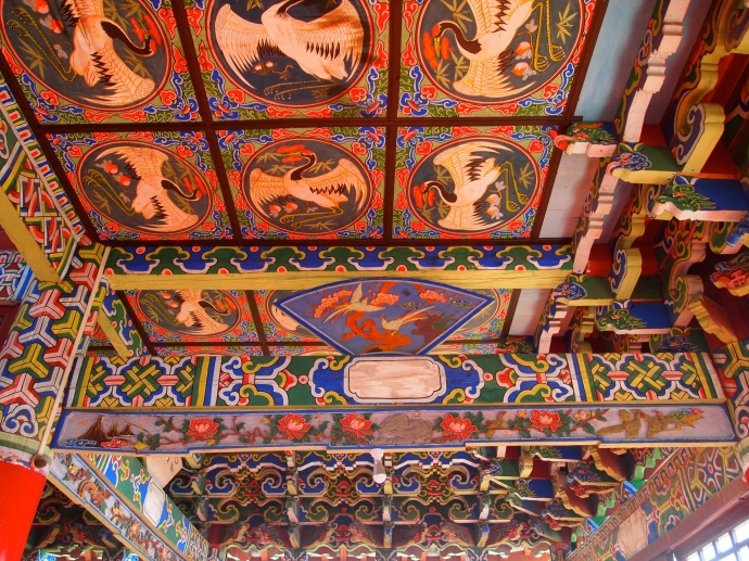 another ceiling in Wangu Pavilion