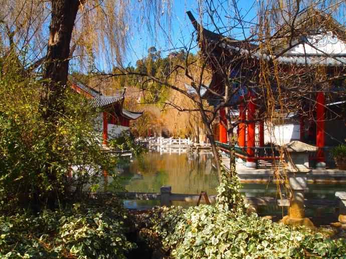 ponds & pavilions