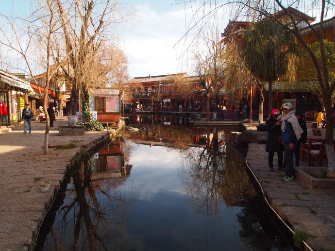 canal through town