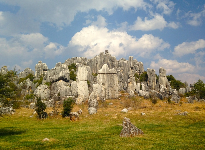 stone forest and stone teeth