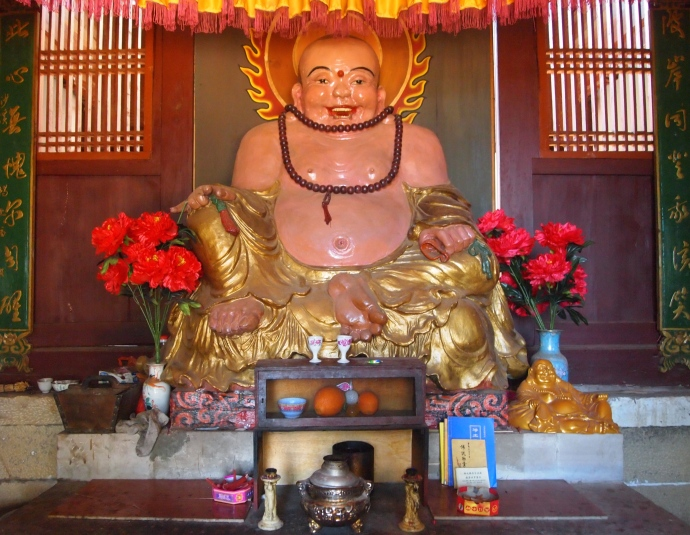 Buddha in Haiyun Temple