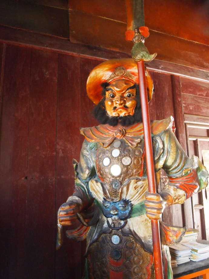 Another of the cast of characters at Haiyun Temple