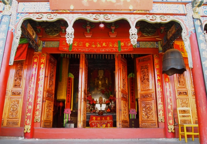 Main hall at Haiyun Temple