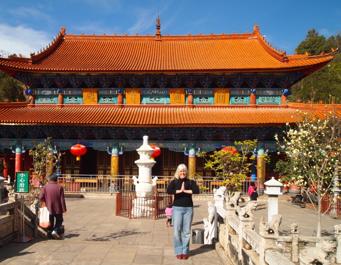 Main Hall at Yuangtong Temple