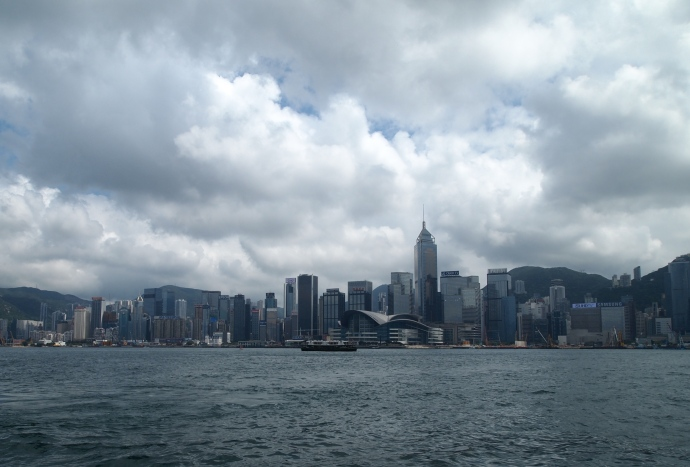 Hong Kong Island skyline from the Star Ferry