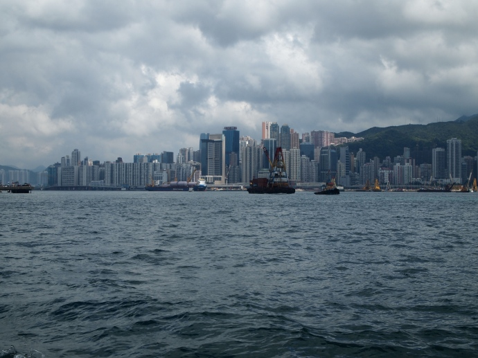 Victoria Harbor & Hong Kong