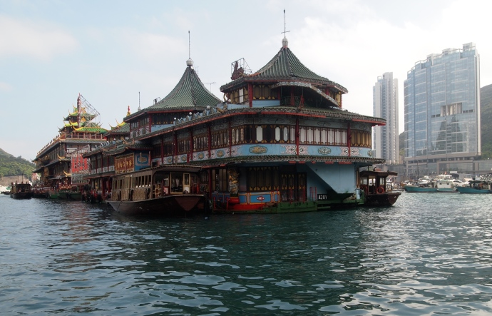 Jumbo Floating Restaurant in Aberdeen, Hong Kong