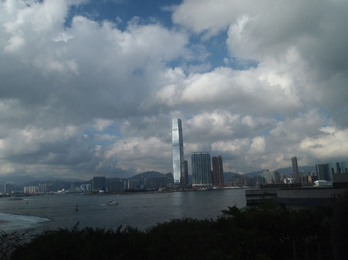 International Commerce Center - ICC - the tallest building in Hong Kong - in Kowloon