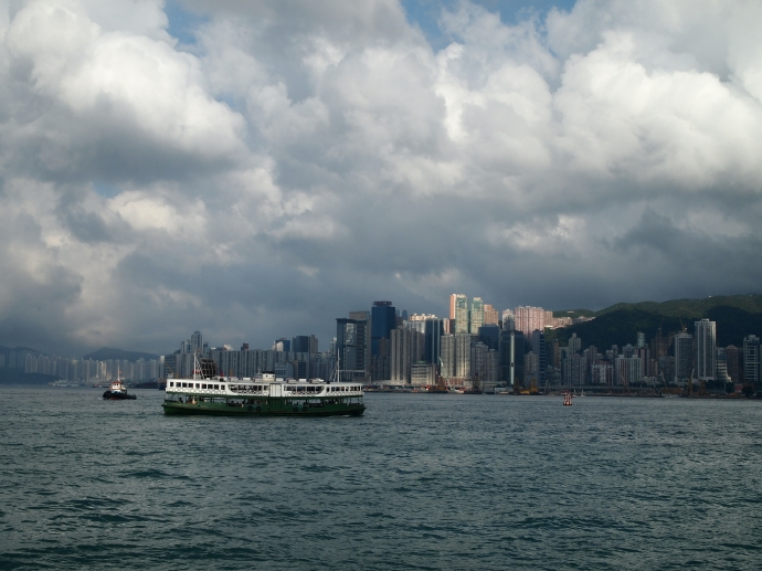 Ferry in Victoria Harbour