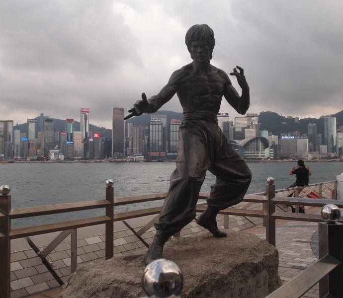 Bruce Lee on Avenue of Stars