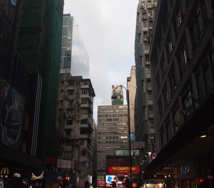 Streets of Tsim Sha Tsui in Kowloon