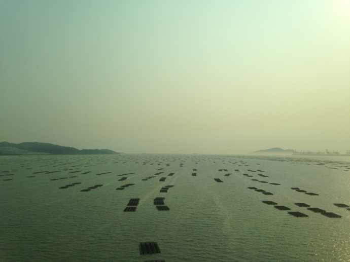 Crossing into mainland China