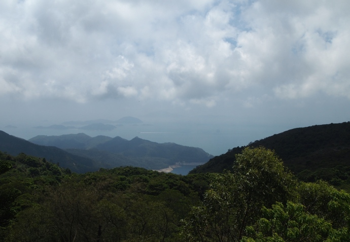 The view from Tian Tan Buddha