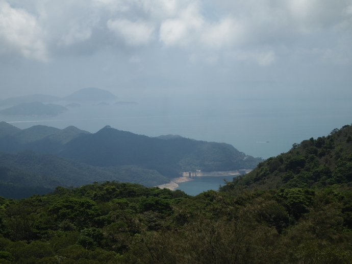 View of Lantau from the Big Buddha