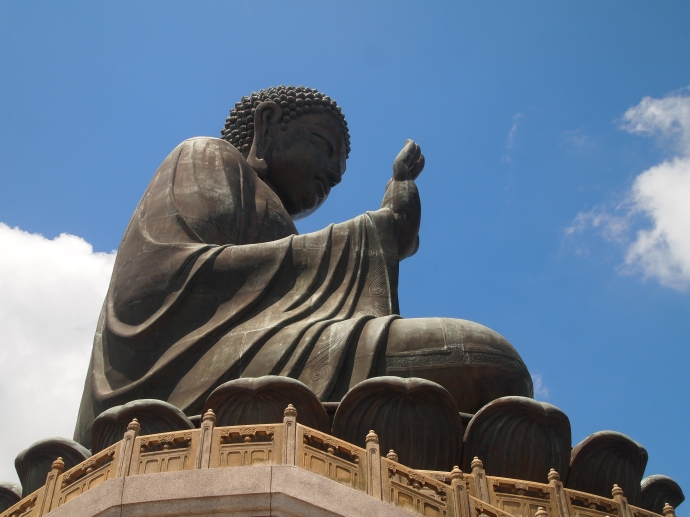 Tian Tan Buddha, or the Big Buddha