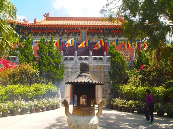 At Po Lin Monastery