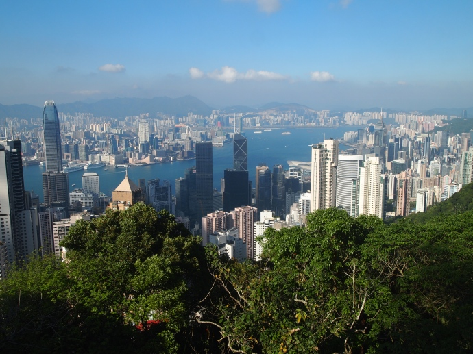Hong Kong from The Peak