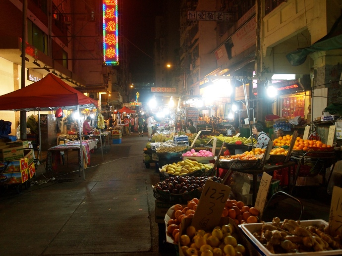 The Night Market on Temple Street