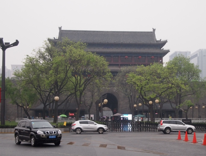Yongning, the south gate of the walled city of Xi'an