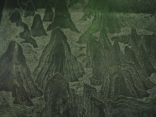 In the 4th room: A Full Viw of Tai Bai Mountain