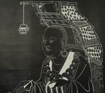 A Portrait of Bohidharma