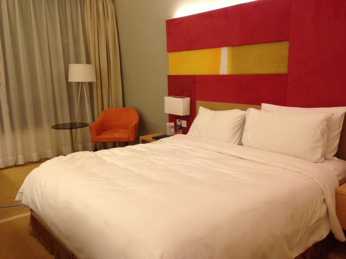 My room at the pentahotel in shanghai