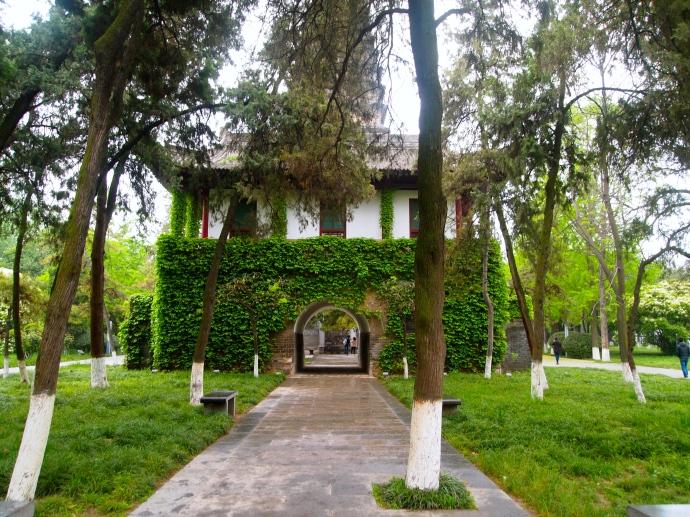 Entrance to Small Wild Goose Pagoda