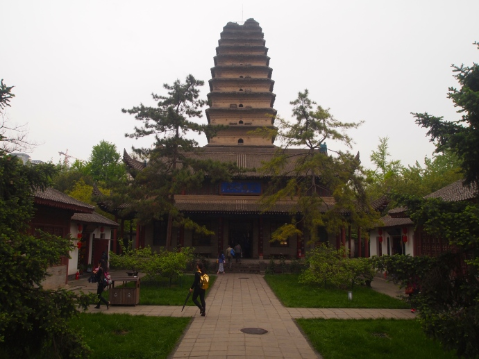 Jianfu Temple, or Felicity Temple
