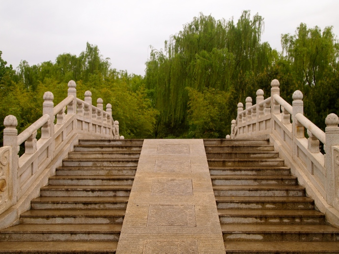 Bridge at Small Wild Goose Pagoda