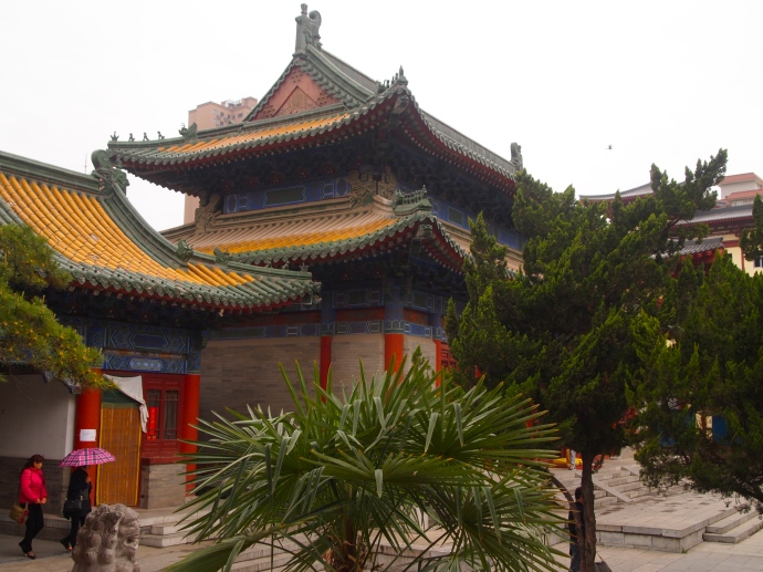 Daxingshan Si temple complex