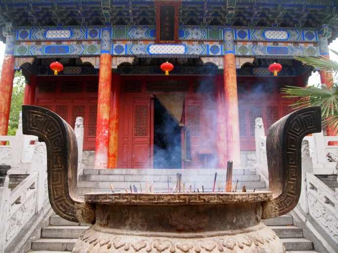 Incense at Daxingshan
