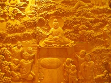 relief carvings at Avalokiteshvara Hall