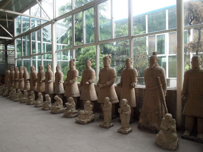terra cotta warriors