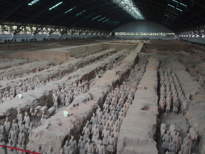 Vault 1of the Terra Cotta Warriors