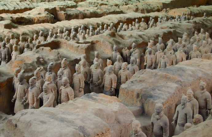 In the trenches for Emperor Qin