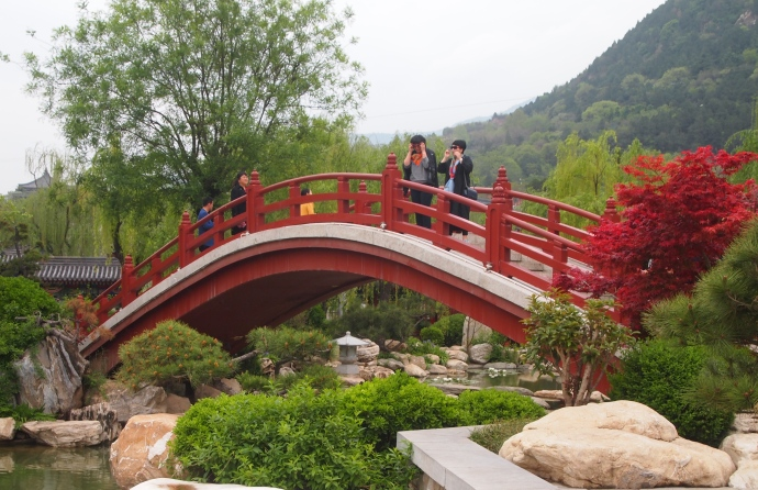 Bridge at Huaqing Hot Spring